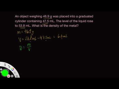 Density Practice Problem 2