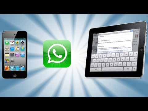 Easiest Way To Install WhatsApp on iPod Touch and iPad