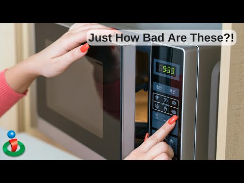 Microwaves Damage Food, But Something Worse Revealed at 1:05 of This Video
