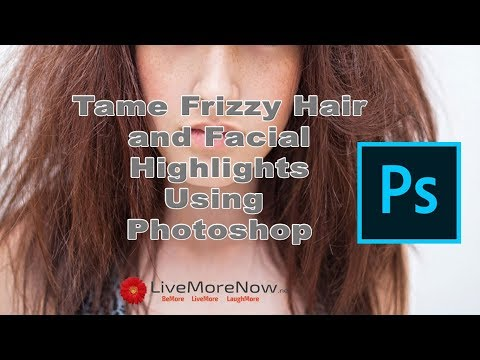 Photoshop Tip: Tame Frizzy Hair and Facial Highlights