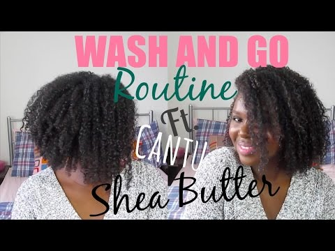 Wash and Go For Natural Hair | Summer Curls with CANTU Shea Butter