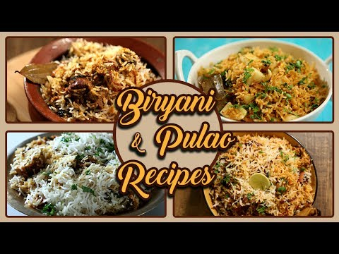 Biryani And Pulao Recipes In Marathi   Ramadan Recipes   Biryani Recipe   Pulao Recipe   Eid Special