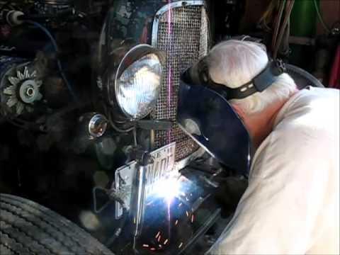 Rat Rod suicide front axle mount repaired