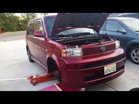 Replacing water pump on 2006 Scion xB (English language)