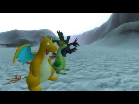 Skyrim vs. Pokemon: Dragon Busting (Gmodified)