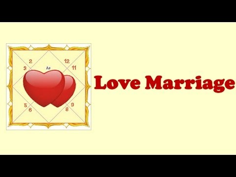 Love Marriage Through Vedic Astrology