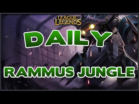 GUIDE RAMMUS JUNGLE SUR LOL COUNTERS ET BUILD