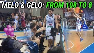 LaMelo & Gelo Go From SCORING 108 POINTS To 8! FULL HIGHLIGHTS 😱