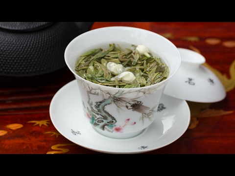 How to make a Fresh Jasmine Green tea