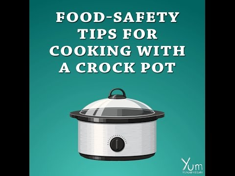 Food Safety Tips for Cooking with a Crock Pot