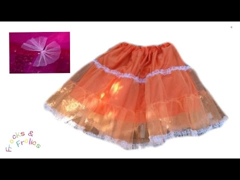 Petticoat (50's style) - How to - Easy Sewing
