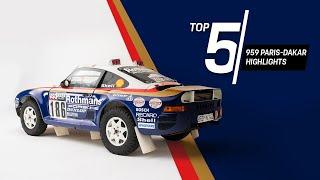 Porsche Top 5 Series: 959 Paris-Dakar Highlights