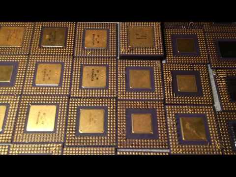 25 oz Gold Scrap 486 CPU Ceramic Intel AMD For Gold Recovery at cyberinfinity