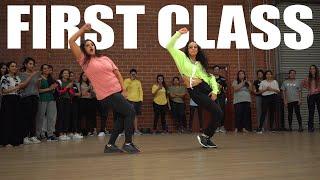 """""""FIRST CLASS"""" BollyFunk Dance   Chaya and Shivani   Varun Dhawan, Alia Bhatt,"""