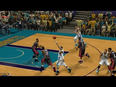NBA 2K13 My Career - Mean Triple Double and Lob Off Glass