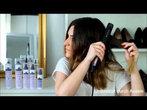 Aussie Messy Waves Hairtutorial