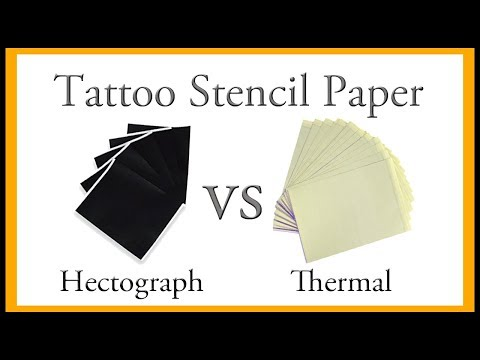 Tattoo Review: Hectograph VS Thermal Stencil Paper