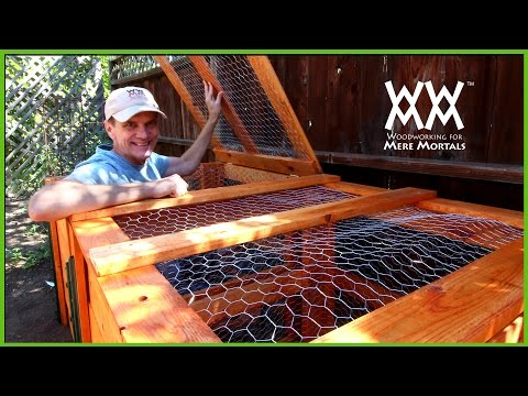 Make This Super Easy Compost Bin with LIMITED TOOLS. Anyone Can Build This!