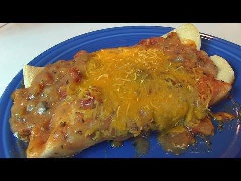 Betty's Ground Beef and Cheese Enchiladas