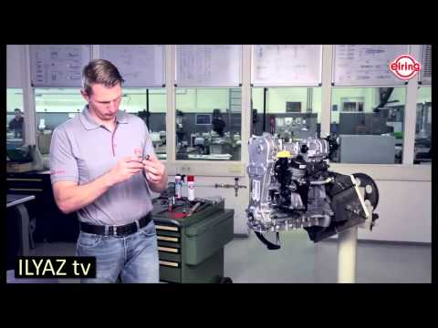 Opel Engine 1.3 CDTI - Timing cover gasket replacement