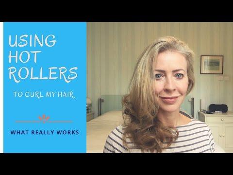 Quick and easy: using hot rollers to curl my hair