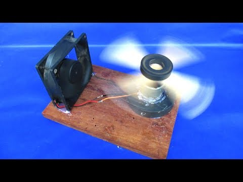 How to make free energy magnets generator with pc fan - work 100%