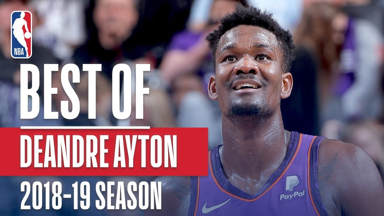 Deandre Ayton's Best Plays From His Rookie Season!