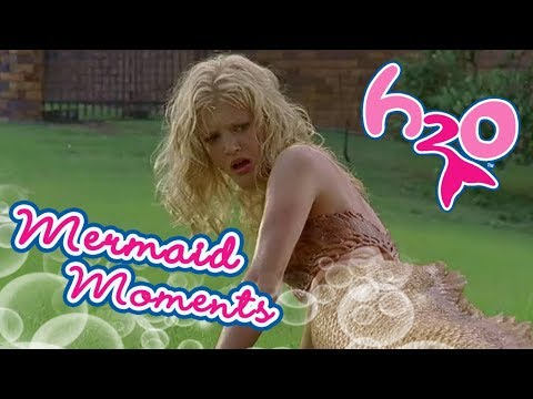 Turn into mermaids  | Mermaid Moments | H2O - Just Add Water