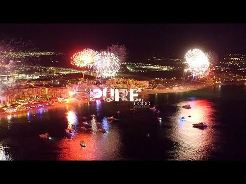 July 4th 2017 Fireworks on Medano Beach, Cabo San Lucas, Mexico