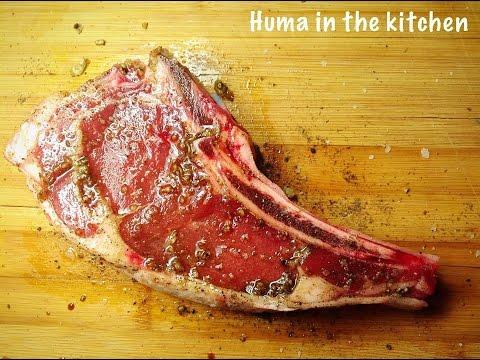Rib Eye Steak Oven, Rib Eye Steak BBQ , How To Cook Perfect Steak, by (HUMA IN THE KITCHEN)