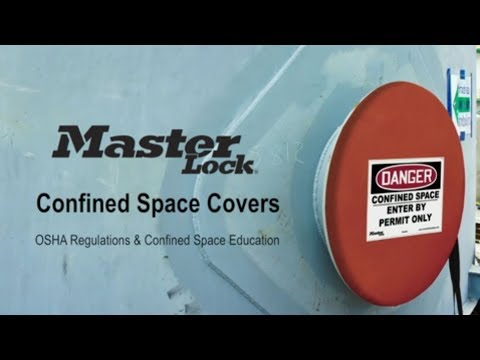 Master Lock Confined Space Covers Educational Video