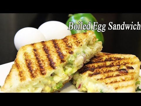 Crispy Egg Sandwich | Quick BreakFast Recipe | How to make Egg Sandwich | Ep - 600