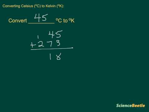 Converting Celsius to Kelvin (part 2)