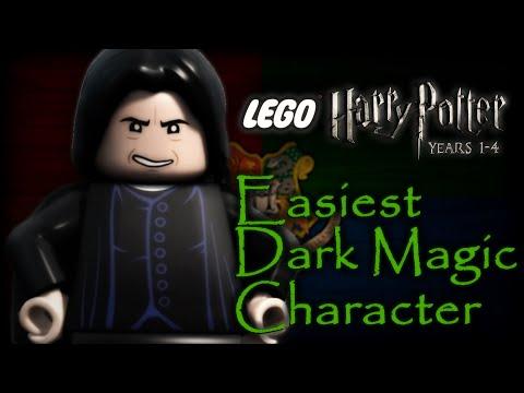 Lego Harry Potter Years 1-4 - Easiest Dark Magic Wizard (How To Unlock)