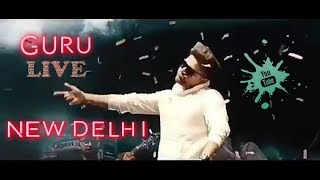 Guru Randhawa Live New Delhi  ||The Grub Fest 2018||