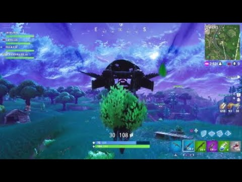 Fortnite Battle Royale 50v50 Funny Moments: The War of Confusion