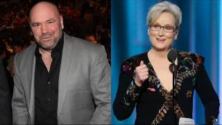 the truth behind the Dana White and the UFC vs Meryl Streep beef