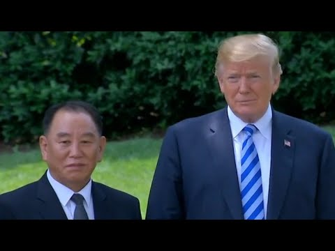 Trump reveals details about meeting with top North Korean official