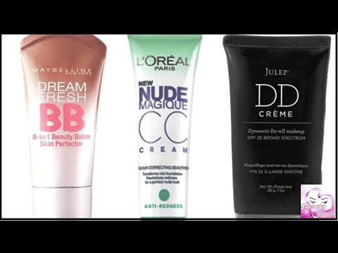 The Significant Differences Between BB, CC and DD Cream