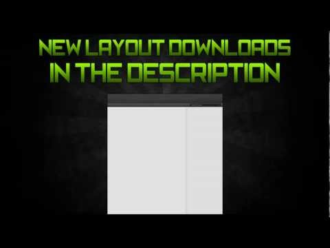 New YouTube Layout Download - Standard and Partnered