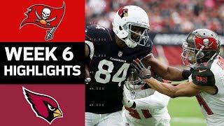 Buccaneers Vs Cardinals Nfl Week 6 Game Highlights