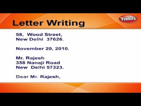 How to write Apology Letters | Letter Writing in English | Writing Letters For Kids