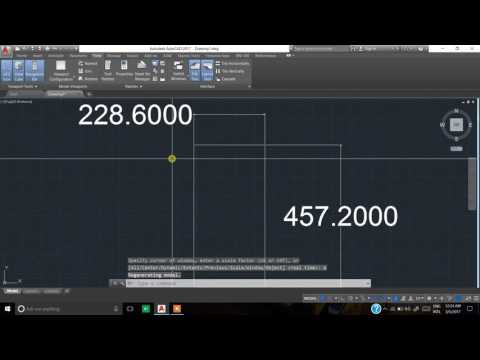 How to Set and Convert Units in Auto-CAD Drawings.