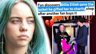 Fan discovers Billie Eilish Donated the Jacket He Gifted Her To Charity