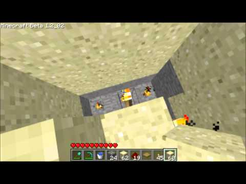 How to make a pitfall trap in Minecraft