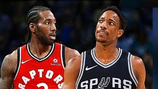 NBA Players React To Kawhi Leonard and DeMar Derozan Trade!