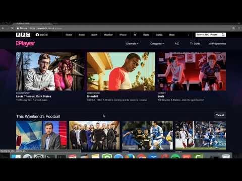 Watching the BBC iPlayer using PureVPN