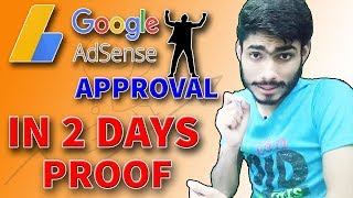 How to get google adsense approval fast | adsense approval 2019 | adsense approval tip | Secret Guru