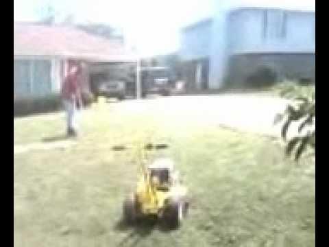 Big John's Service Co, Installing a 4 zone Sprinkler System, May 19, 2012, Pt #1
