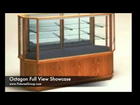 Wooden Display Cases